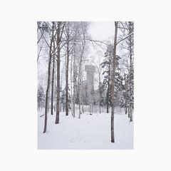 Garpenberg 2018 (Karl Gunnarsson) Tags: dalarnaslän sweden se g80 panasonic20mmf17 garpenberg hedemorakommun dalarna sverige boliden mine trees forest snow overcast grey