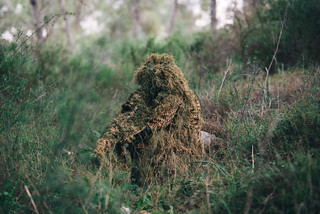 Snipers Camouflage Demonstration