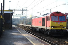 60019 6E14 (Liam Blundell Photography) Tags: dbs db ews red tug class 60 60019 broad green 6e14 seaforth ct tinsley ss port of grimsby immingham train old clag hellfire friday only work rare merseyside liverpool supershot