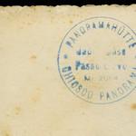 Archiv O730 Grußkarte vom Jaufenpaß (back), 1960er thumbnail