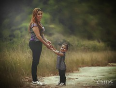 Marrie & Lisa (gmdssoulphotography) Tags: mother daughter baby kid maternity sun beautiful forest