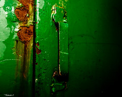 The Green Handle (that_damn_duck) Tags: industrial handle metal rust rusting