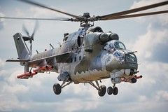 Hind (tamson66) Tags: helicopter mi24 hind airshow aircraft czechairforce
