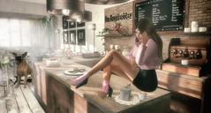 Falling in Love in a Coffeeshop (Luane Meo) Tags: seniha treschic candydoll kustom9 fabia gachagarden catwa maitreya larahurley ikon serenitystyle pocketgacha jian zerkalo ariskea dustbunny soy {whatnext} rhapplefall luanesworld lwposes