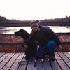 woman's best friend (vastateparksstaff) Tags: dog pet leash walk hike trail winter boardwalk girl fdh