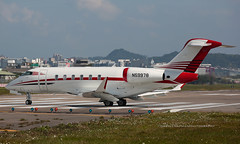 Bombardier, Challenger CL350, N59978, RCSS, Taipei, Taiwan (Daryl Chapman Photography) Tags: n59978 taiwan taipei songshan canon 5d mkiii 70200l bombardier bd1001a10 challenger350 20649