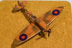 Tamiya 1/48 Spitfire Mk1 (Phil Brown C130) Tags: spitfire spitfiremk1 raf tamiya model modelling scalemodel