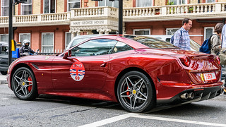 UK Ferrari's 70th anniversary