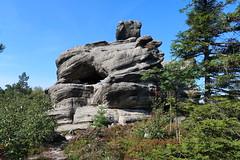 Szczeliniec Wielki (Bogdan J.S.) Tags: europa europe polska poland góry mountains skały rocks krajobraz landscape natura nature szczeliniecwielki górystołowe drzewa trees niebo sky