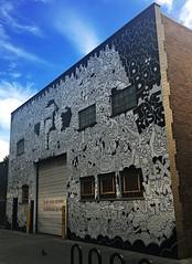 Flex Your Hustle by Lauren Asta (wiredforlego) Tags: graffiti mural streetart urbanart aerosolart chicago illinois ord lauranasta