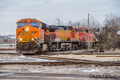 BNSF 6893 | GE ES44C4 | CN Memphis Subdivision (M.J. Scanlon) Tags: bnsf6893 ge es44c4 rjy14 cnrjy14 cn cnmemphissub canadiannational bnsf bnsfrailway bnsfthayersouthsub tree sky digital merchandise commerce business wow haul outdoor outdoors move mover moving scanlon mojo canon eos engine locomotive rail railroad railway train track horsepower logistics railfanning steel wheels photo photography photographer photograph capture picture trains railfan memphis tennessee