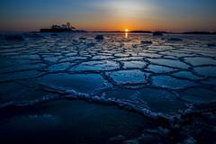 _D1I0734 (Samuli Koukku) Tags: lauttasaari helsinki finland sea balticsea ice north sunset hut nahkahousut canon 1dx2 seascape landscape water weather winter nature