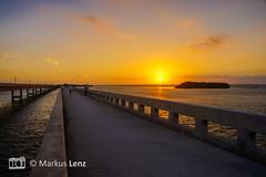 Sunset (Markus Lenz) Tags: 7milesbridge amerika diewelt florida floridakeys himmel insel meer morgensonne naturlandschaft orte sonne sonnenuntergang usa vereinigtestaaten wasser