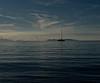 Una barca sul far della sera (manuelfanciullacci) Tags: sanvincenzo barca mare maremma li toscana turismo nikond5100 italia italy italien europa europe
