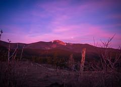 Super Blue Blood Moon (Carson M) Tags: baldy sunrise philmont newmexico