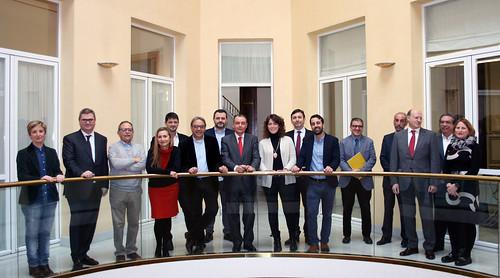 Comité Ejecutivo de CEV y grupo socialista en Les Corts