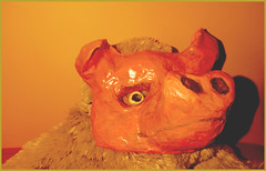 Smile on Saturday - Mask - Creepy Piggy ;) - DSC_2749 (FMAG) Tags: smileonsaturday mask pig