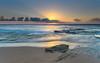 Sunrise Seascape (Merrillie) Tags: daybreak sunrise nature australia sky centralcoast newsouthwales rocks toowoonbay nsw morning beach ocean sea clouds earlymorning coastal landscape outdoors seascape waterscape coast water dawn