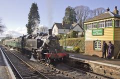 Ivatt no.41312 (alts1985) Tags: ivatt no41312 medstead four marks mid hants railway watercress line pre spring gala steam train hampshire 110218