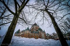 Château Frontenac, Québec, Canada. (corineouellet) Tags: