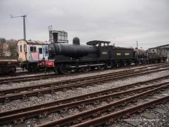 Locomotion @ Shildon 2018 02 14 #2 (Gareth Lovering Photography 4,000,423) Tags: nrm railway museum shildon york trains locomotion locomotive national steam deltic apte winstonchurchill churchill black5 greenarrow