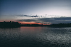 falls lake-6585 (spencer Hart Photography) Tags: sunset northcarolina raleigh canon exposrue explore lake dam rocks river lightroom adobe flow still usa nature outdoors