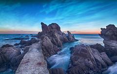 El camino de Ida. (Ramirez de Gea) Tags: calacanyet marinas rocas tokinaaf1224mmf4