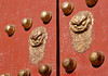 Meridian Door 2 (█ Slices of Light █▀ ▀ ▀) Tags: meridian gate 午门 午門 wumen red wood wooden door dragon yellow gold knob gugong 故宮 故宮博物院 forbidden city palace beijing 北京 china 中国 sony rx1rm2 中國