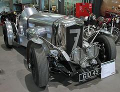 An automotive tribute (Schwanzus_Longus) Tags: schuppen 1 eins breman german germany old classic vintage car vehicle homebuilt speedster race racing bentley jaguar brooklands speed six