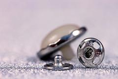 Macro Mondays...Theme...Fasteners (Sue Armsby) Tags: macromondays macro bokeh blur button popper stud silver pearl fasteners