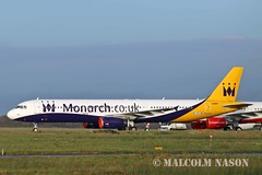 A321-231 OE-IFC ex G-OZBE MONARCH colours (shanairpic) Tags: jetairliner a321 airbusa321 shannon monarch gozbe oeifc