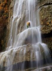 Garona 2 (jaecheve) Tags: garona zaragoza aragon españa spain barranquismo canyoning canyonering cascada waterfall barranquista rapel
