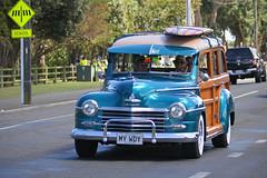 (Paul J's) Tags: event hawera taranaki americarna vehicle car woody plymouth deluxe