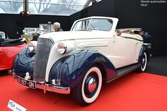 Chevrolet Master Cabriolet 1937 (Monde-Auto Passion Photos) Tags: voiture vehicule auto automobile chevrolet master cabriolet convertible roadster spider blanc white bleu ancienne classique rare rareté vauban vente enchère sothebys france paris