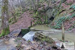 Mühlenbach: Felsdurchbruch zur Strotzbüscher Mühle