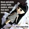Black and White (Leslieshappyheart) Tags: bowwowtrad blythedoll blackandwhite