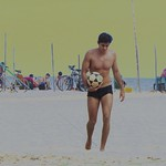 foot-volley in Copabana Beach thumbnail