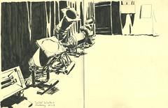 Le Club, la Laiterie - Strasbourg (lolo wagner) Tags: strasbourg croquis sketch alsace usk urbansketchers spectacle concert laiterie