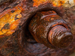Rusted (Ade G) Tags: macro closeup coast rust seascape