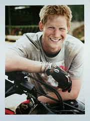 Royal Family - HRH Prince Henry of Wales (Prince Harry) (a_garvey) Tags: royalfamily postcard postcrossing people princeharry available