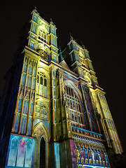 Lumiere London - The Light of the Spirit (Chapter 2), Westminster Abbey (Jez B) Tags: lumiere london light show display exhibition installation art westminster abbey projector painting spirit chapter 2 two patrice warrener