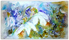 Watercolour:..snowdrops, the winterspring flowers... (Nadia Minic) Tags: expressiveart snowdrops colourfull winter garden icy snow cold flower whiteflower artbynadiaminic luxembourg artistepeintre