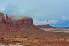 Monument Valley Winter (robinson_d70) Tags: monumentvalley monumentvalleywinter cold americanwest landworthpreserving navajoland