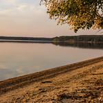 Warm glow of the setting sun, Waskesiu Lake, Prince Albert National Park thumbnail