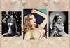 V_1720 (C&C52) Tags: portrait photosdestudio vintageshot triptyque icône star actrice cinéma collector