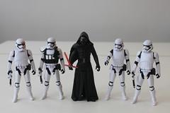 The First Order (Rylo-Ken) Tags: first order star wars force awakens last kylo ren captain phasma general hux stormtrooper snowtrooper flametrooper finn jedi