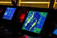 10cm Radar (langdon10) Tags: bridgewindows canada canon70d laurentiadesgagnes navigationbridge radar ship tanker winter
