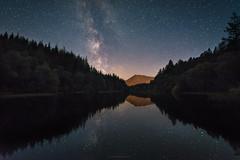 Glencoe Lochan (chrismarr82) Tags: nikon astro scotland reflection lochan glencoe