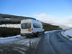 Ford Transit - ST64ASU - Scottish Borders Council (cessna152towser) Tags: fordtransit