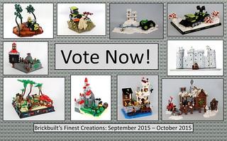 Brickbuilt's Finest Creations: September 2015 - October 2015